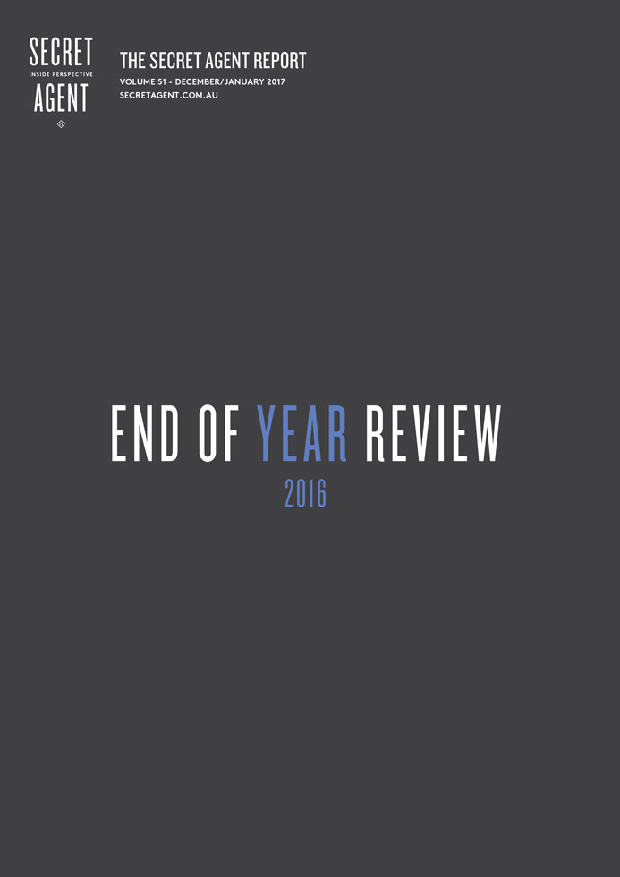 secret agent report end of year review 2016
