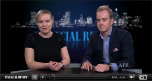 Secret Agent Chats with the Financial Review