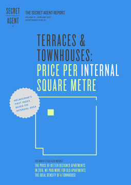 Terraces & Townhouses: Price Per Internal Square Metre